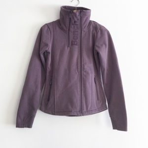 Bench Purple Sweater Jacket